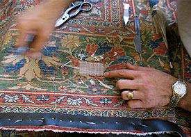 Oriental Rug Repair in San Marino