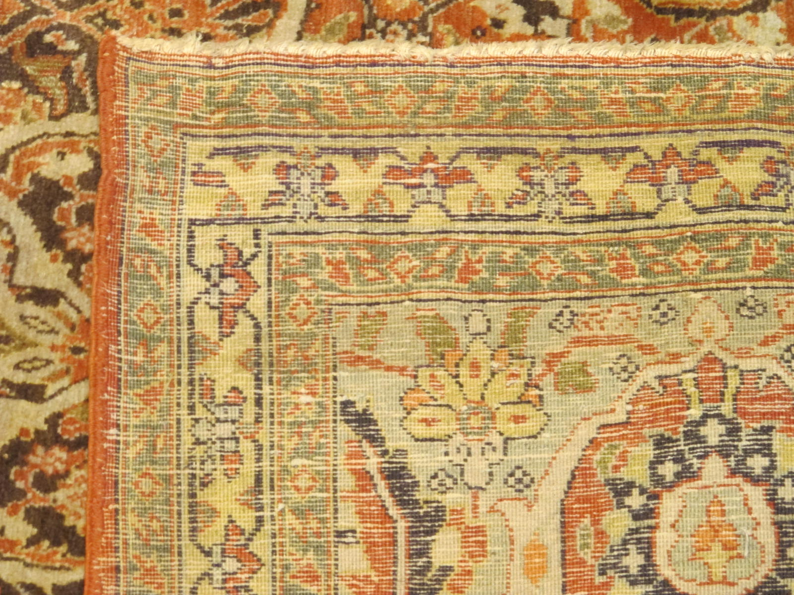 10 antique persian tabriz rug 11x17,4 (4)