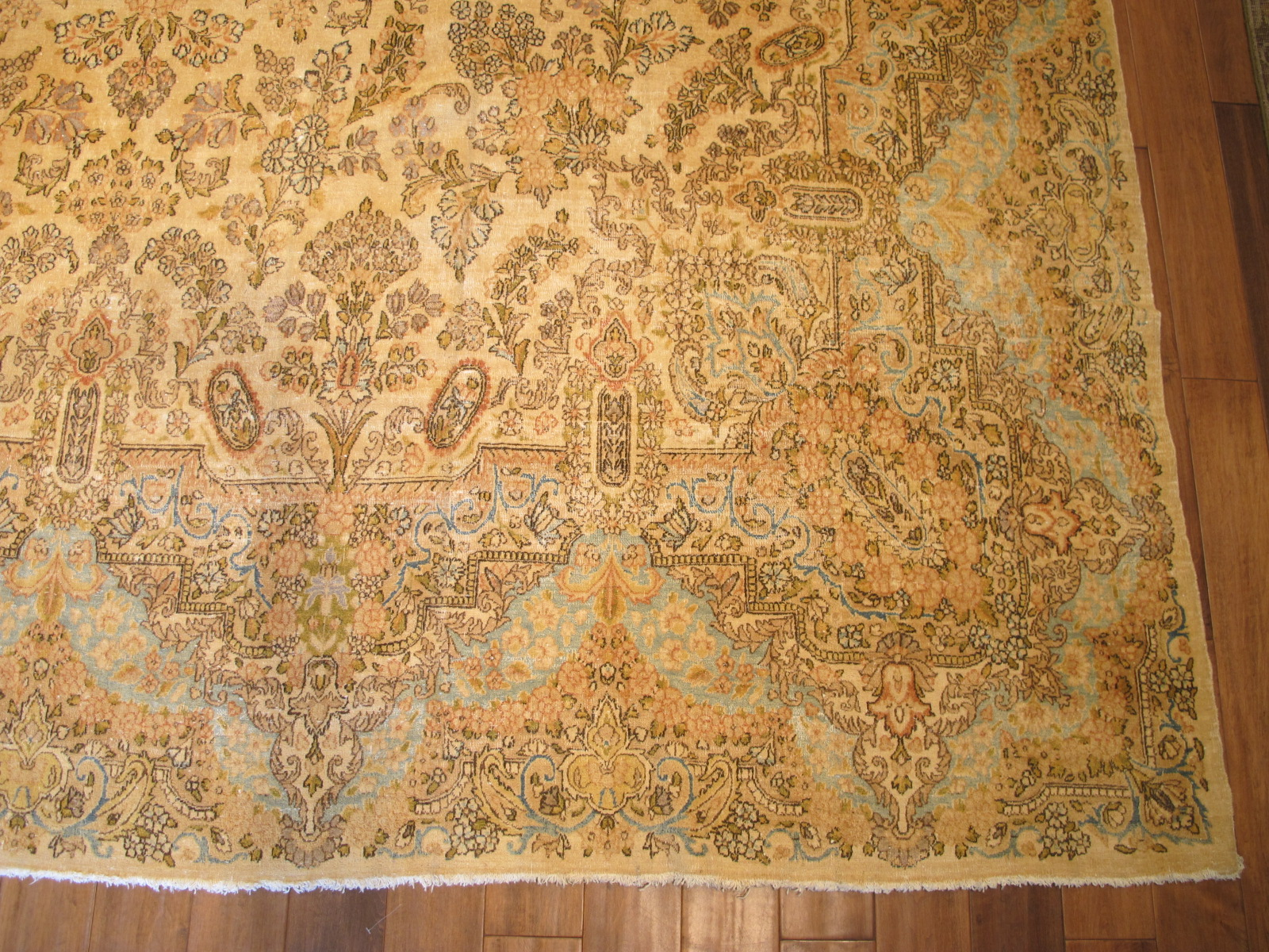 12330 semi antique Persian Kerman carpet 10,10 x 18,5 (2)