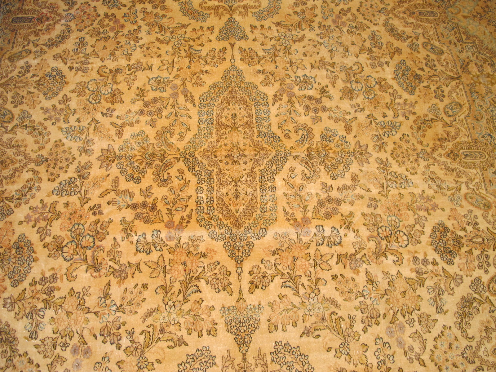 12330 semi antique Persian Kerman carpet 10,10 x 18,5 (3)