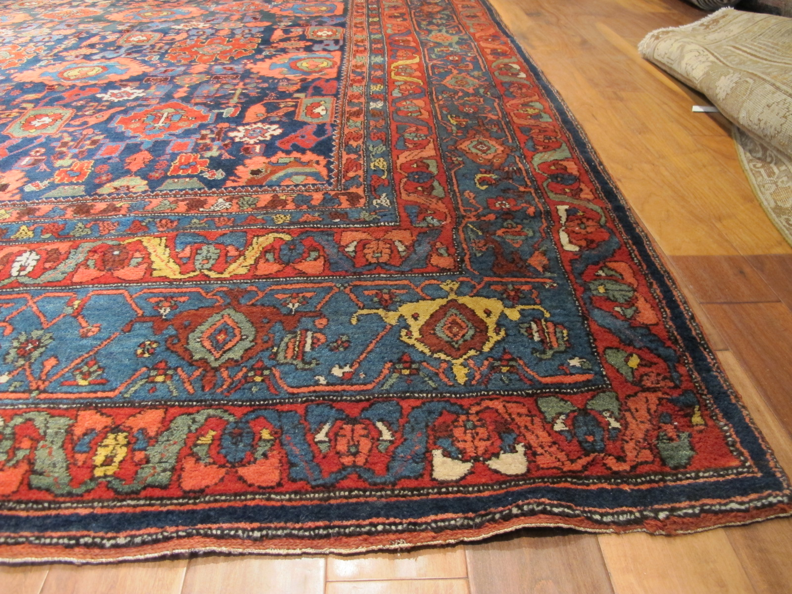 12478 Antique Persian Bidjar carpet 13,1 x 20 (2)