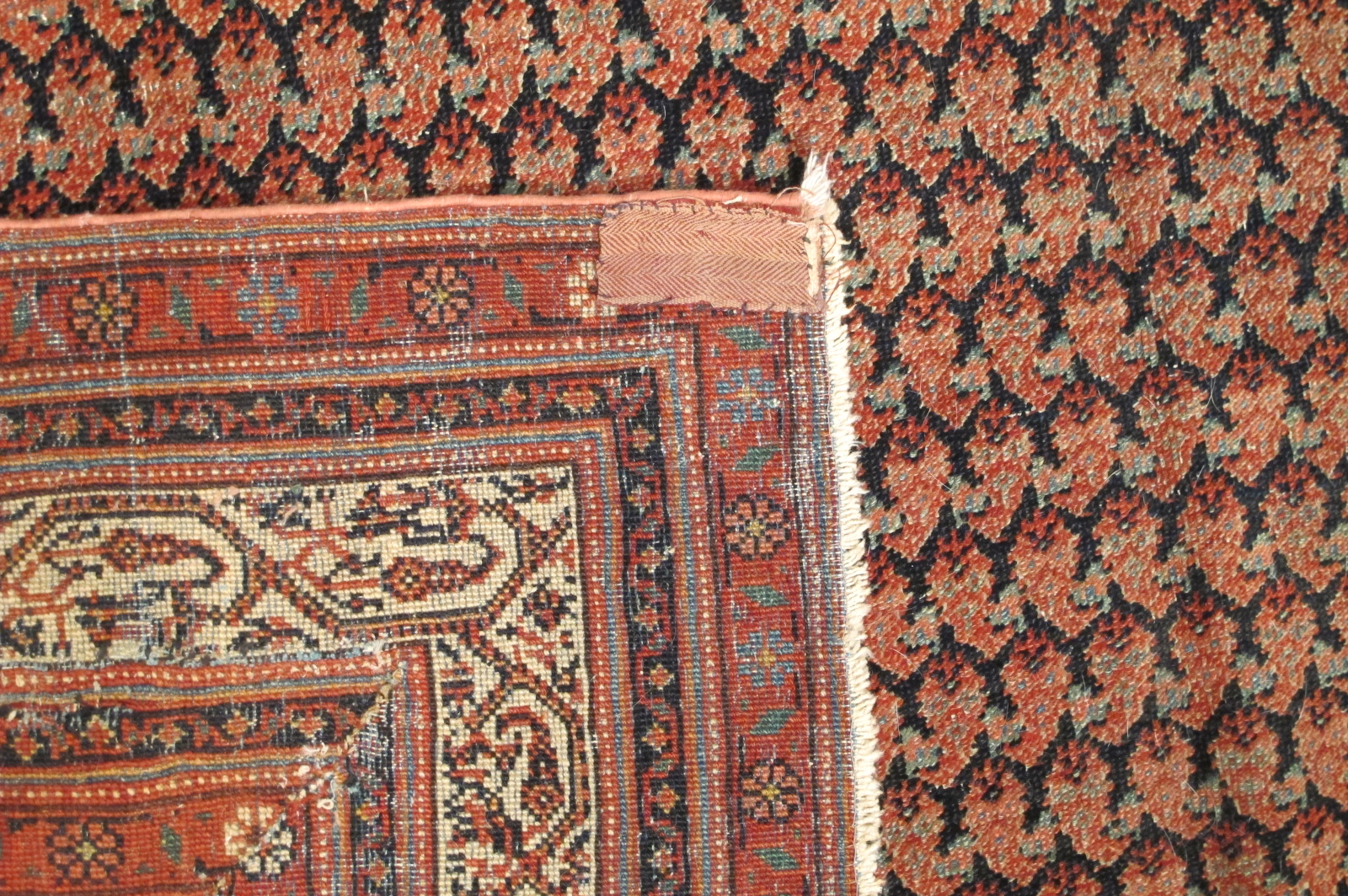 Antique Persian Seraband Gallery Rug
