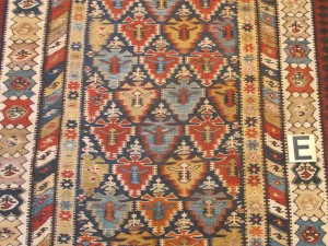Persian Seneh Kurd kelim hall runner 4' 5 x 15' 10-after repair (4)
