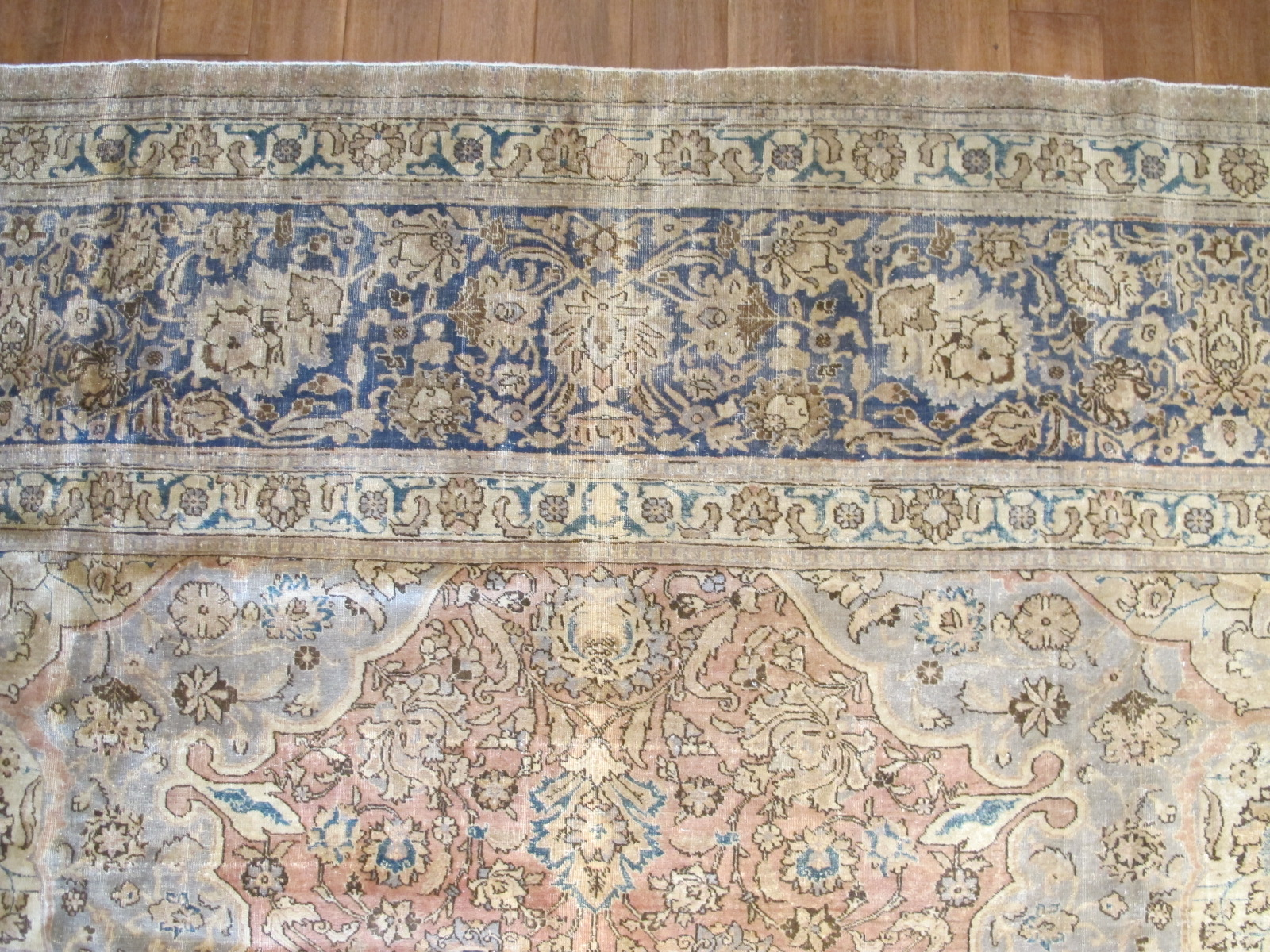 12584 antique persian tabriz rug 12,9 x 21 (1)