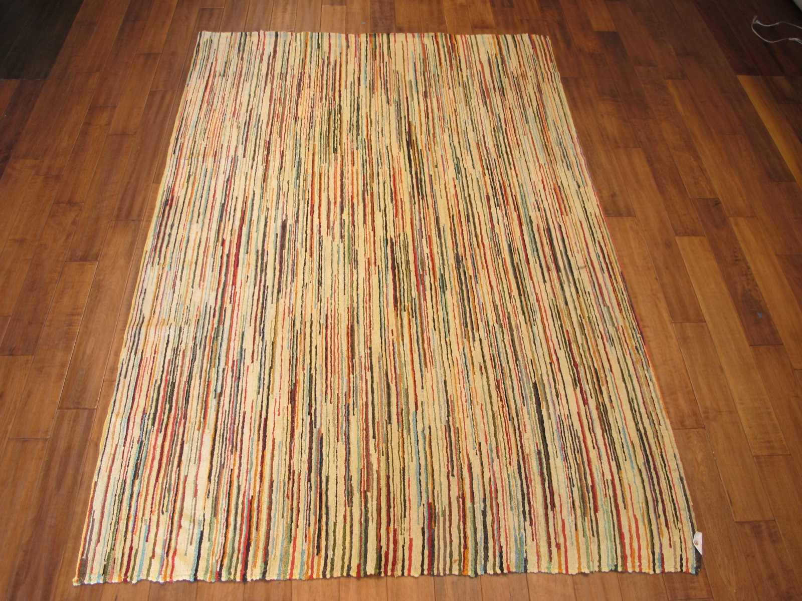 12827 vintage custom rug 5,10 x 8,3 mid 20th c