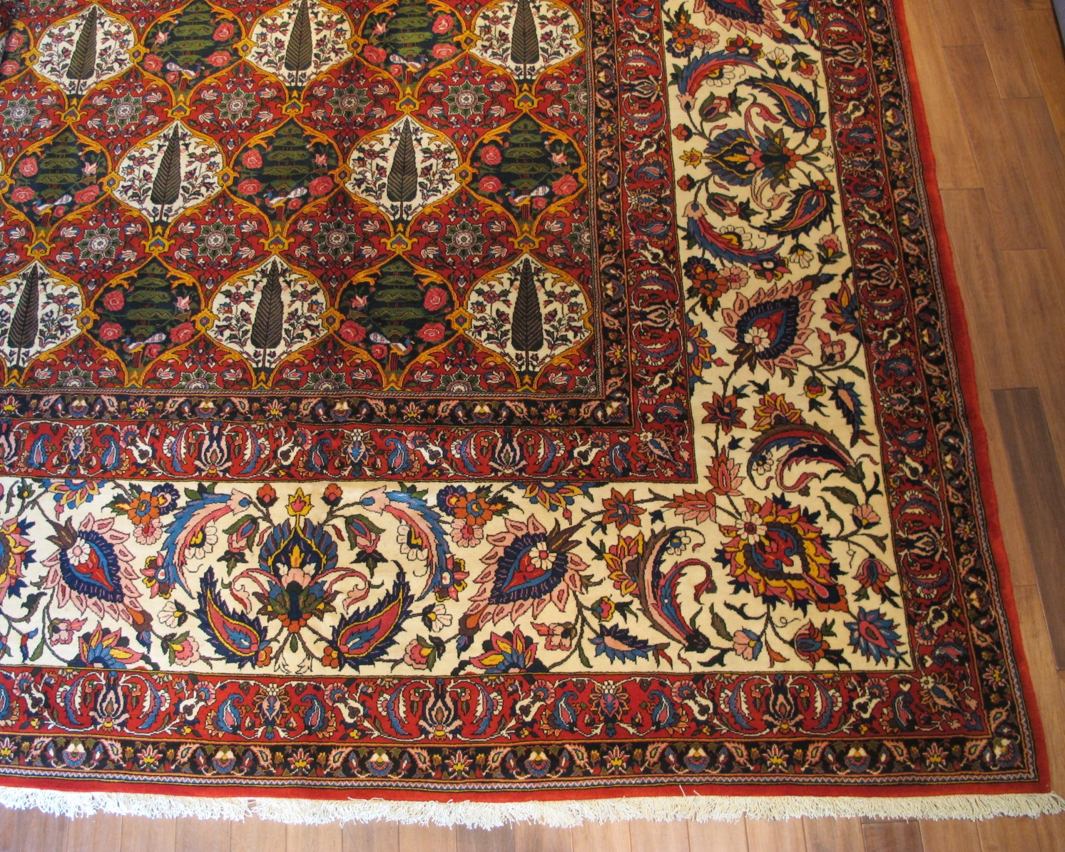 21419 Persian Baktiar carpet 16,6 x 22,6 (1)