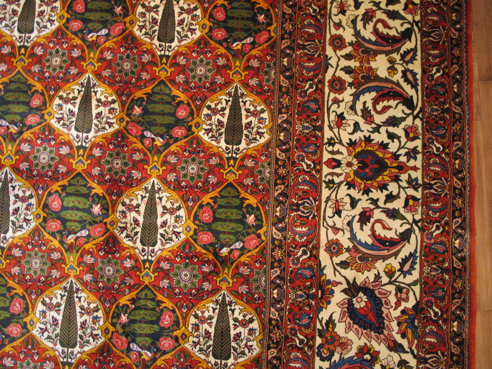 21419 Persian Baktiar carpet 16,6 x 22,6 (3)