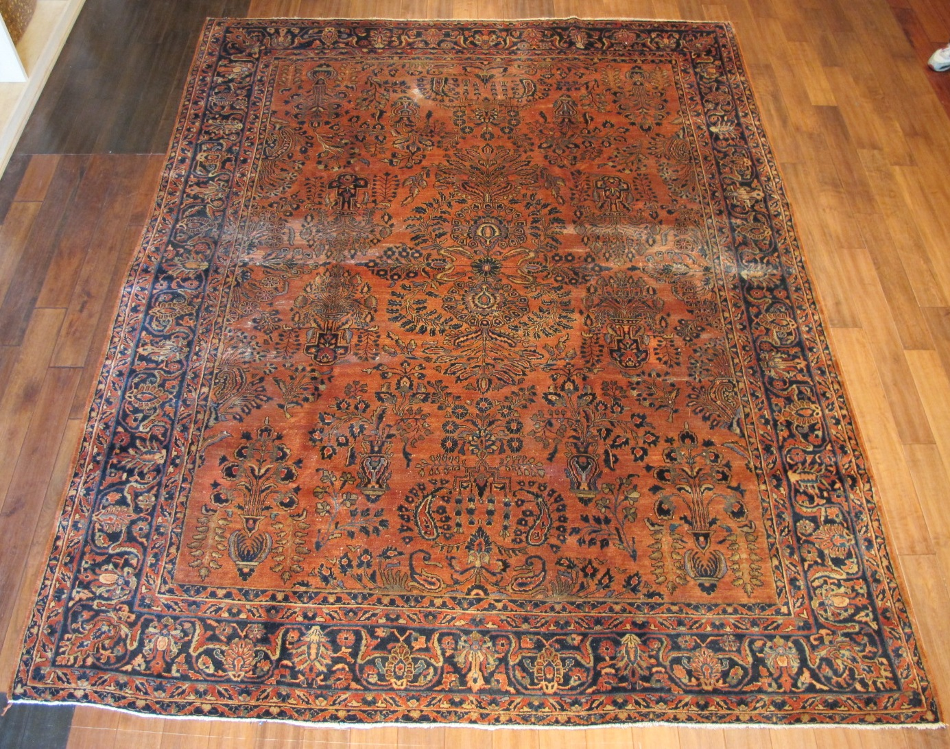 22323 semi antique persian sarouk rug 8,7x10,10 (1)