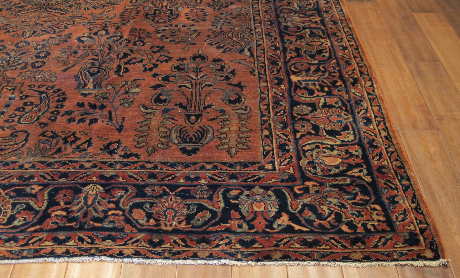 22323 semi antique persian sarouk rug 8,7x10,10 (3)