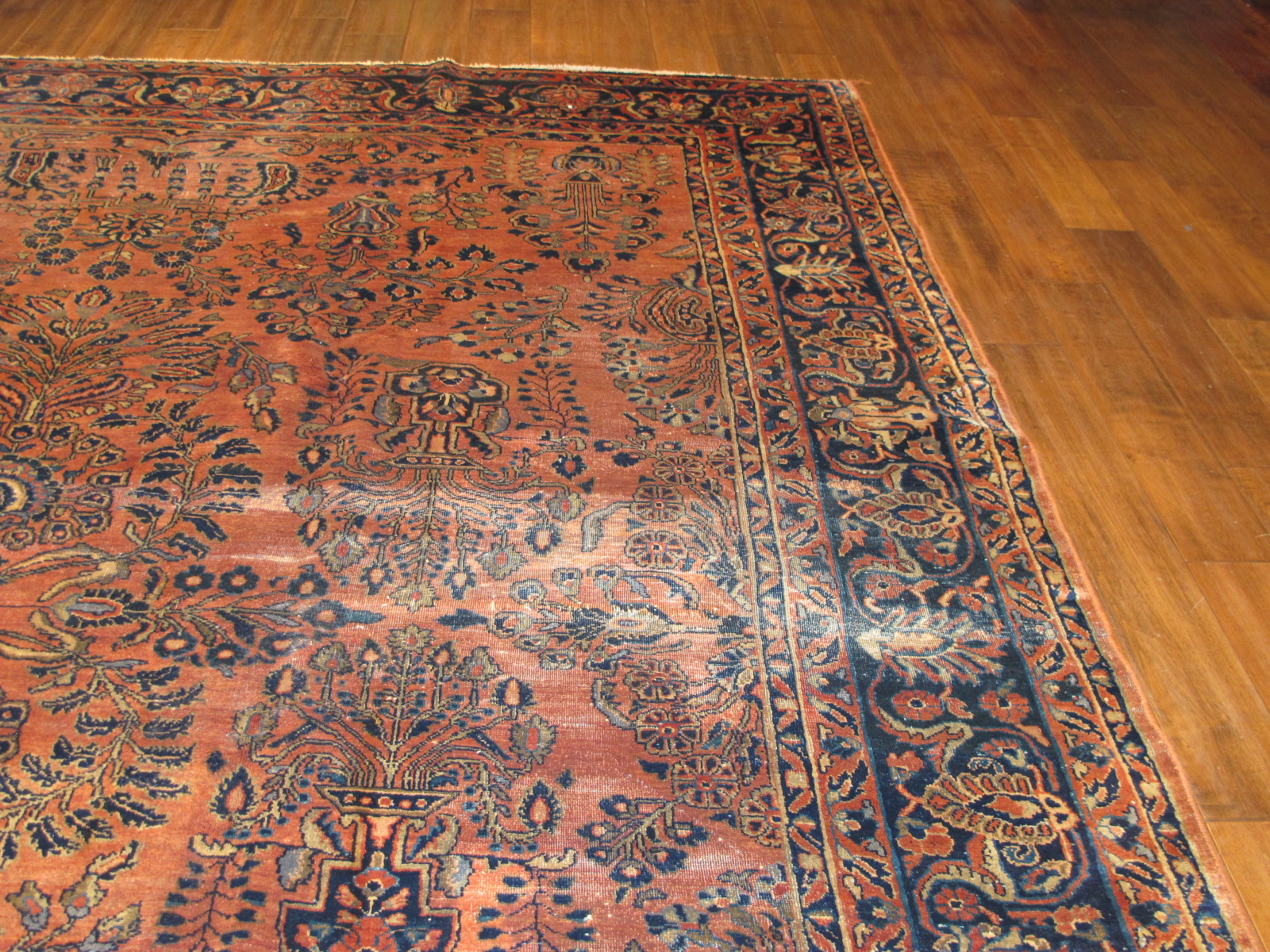 22323 semi antique persian sarouk rug 8,7x10,10 (5)