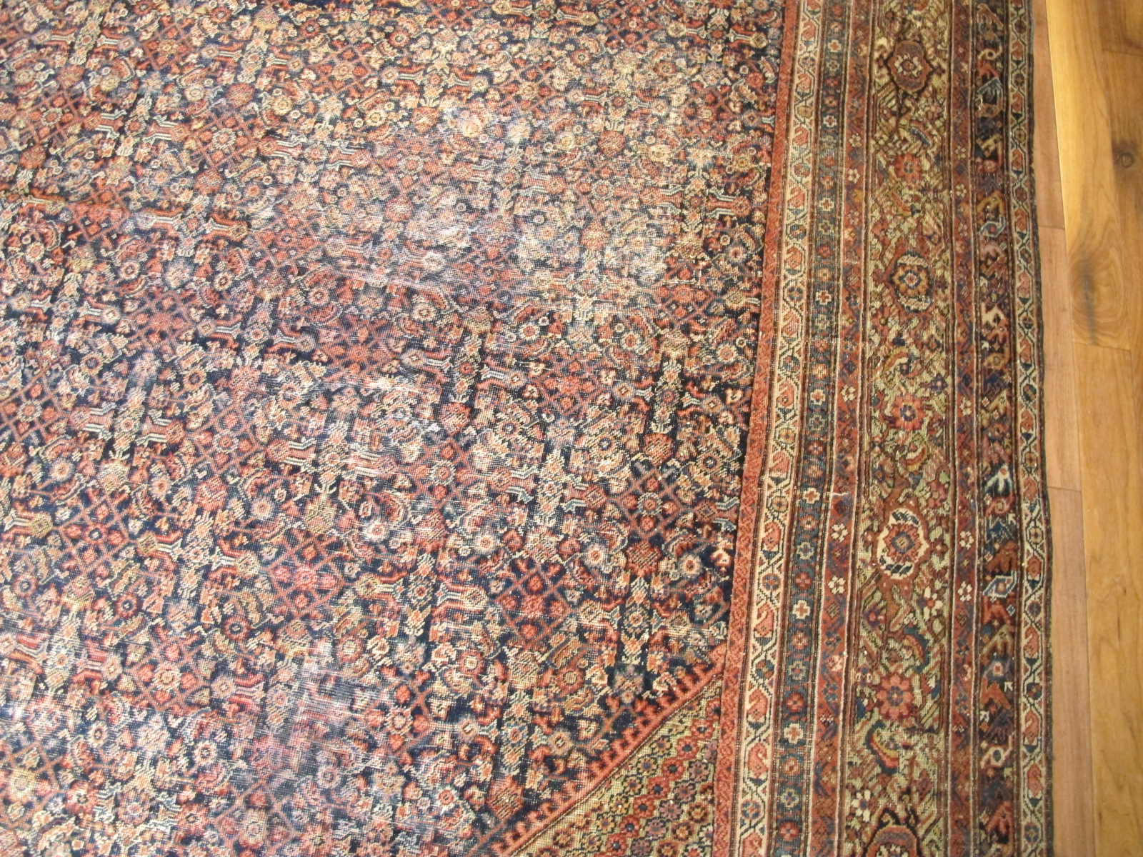 22329 antique persian mahal rug 12,3x16,7 (1)