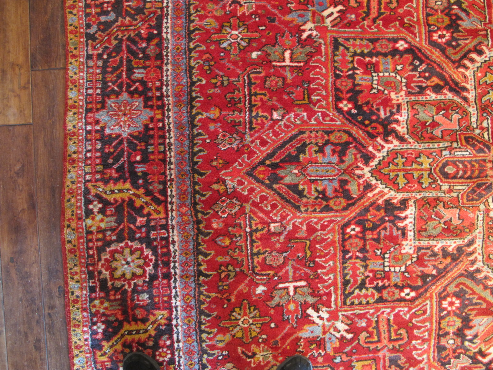 23048 persian karadja heriz carpet 9,10 x 12,3 (2)