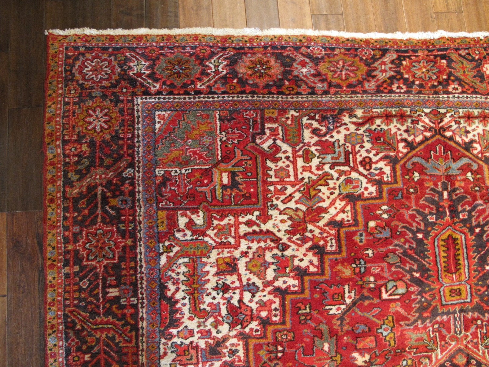23048 persian karadja heriz carpet 9,10 x 12,3 (3)