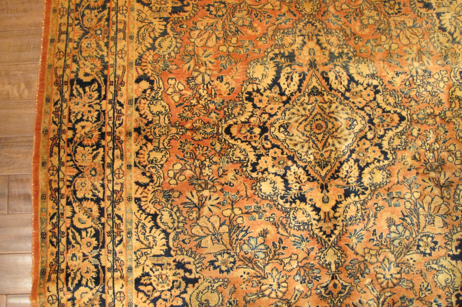 42 semi antique pesian sarouk rug 6,2 x 9,6 (2)