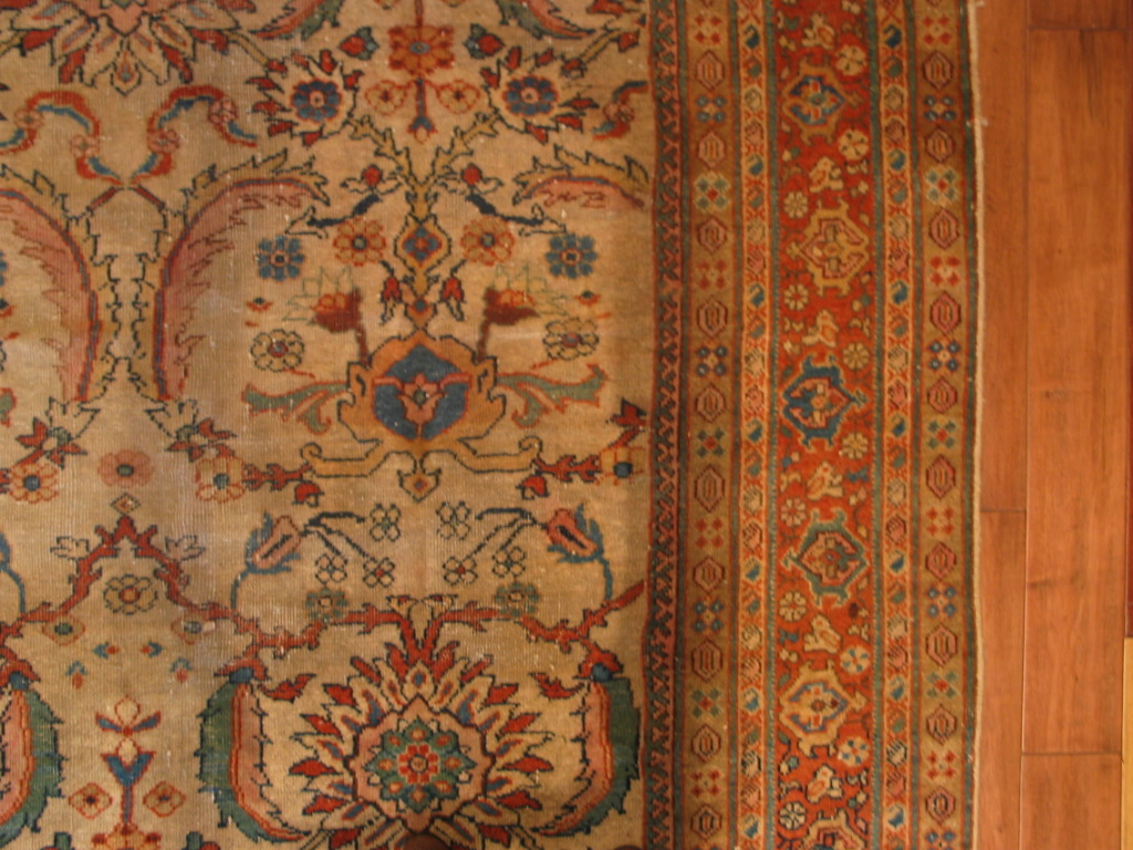 A0 21232 Antique Persian Sultanabad carpet 6,8 x 10,5 (2)
