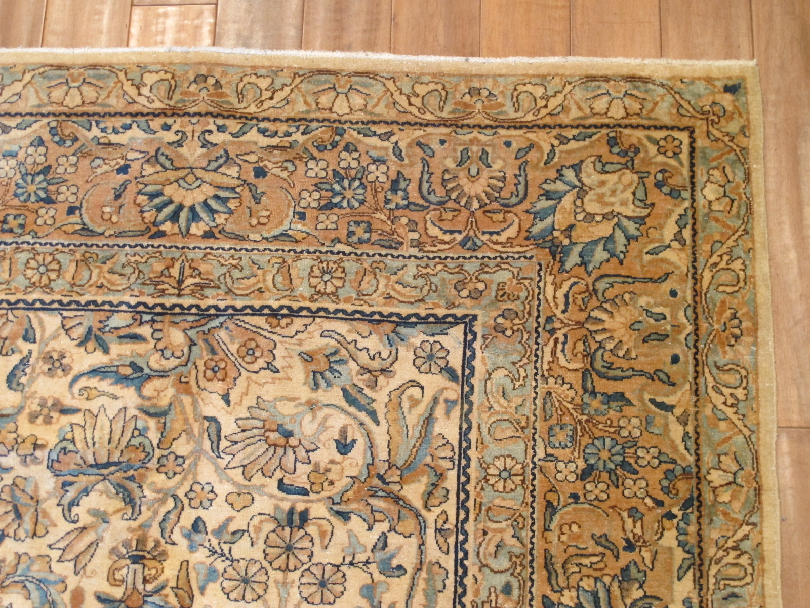 12850 semi antique persian kirman rug 7,11 x 10,8 (3) - Copy