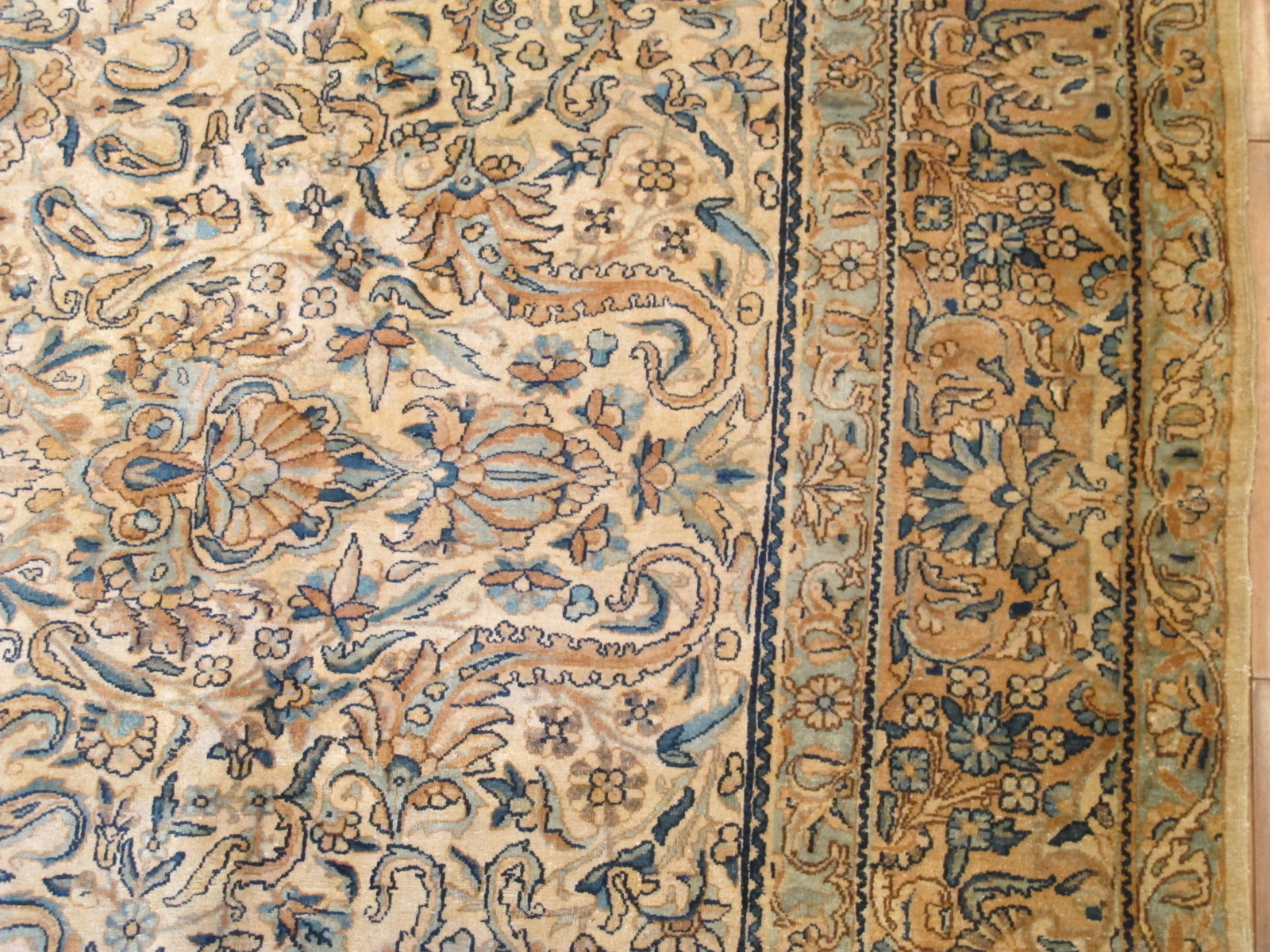 12850 semi antique persian kirman rug 7,11 x 10,8 (4) - Copy