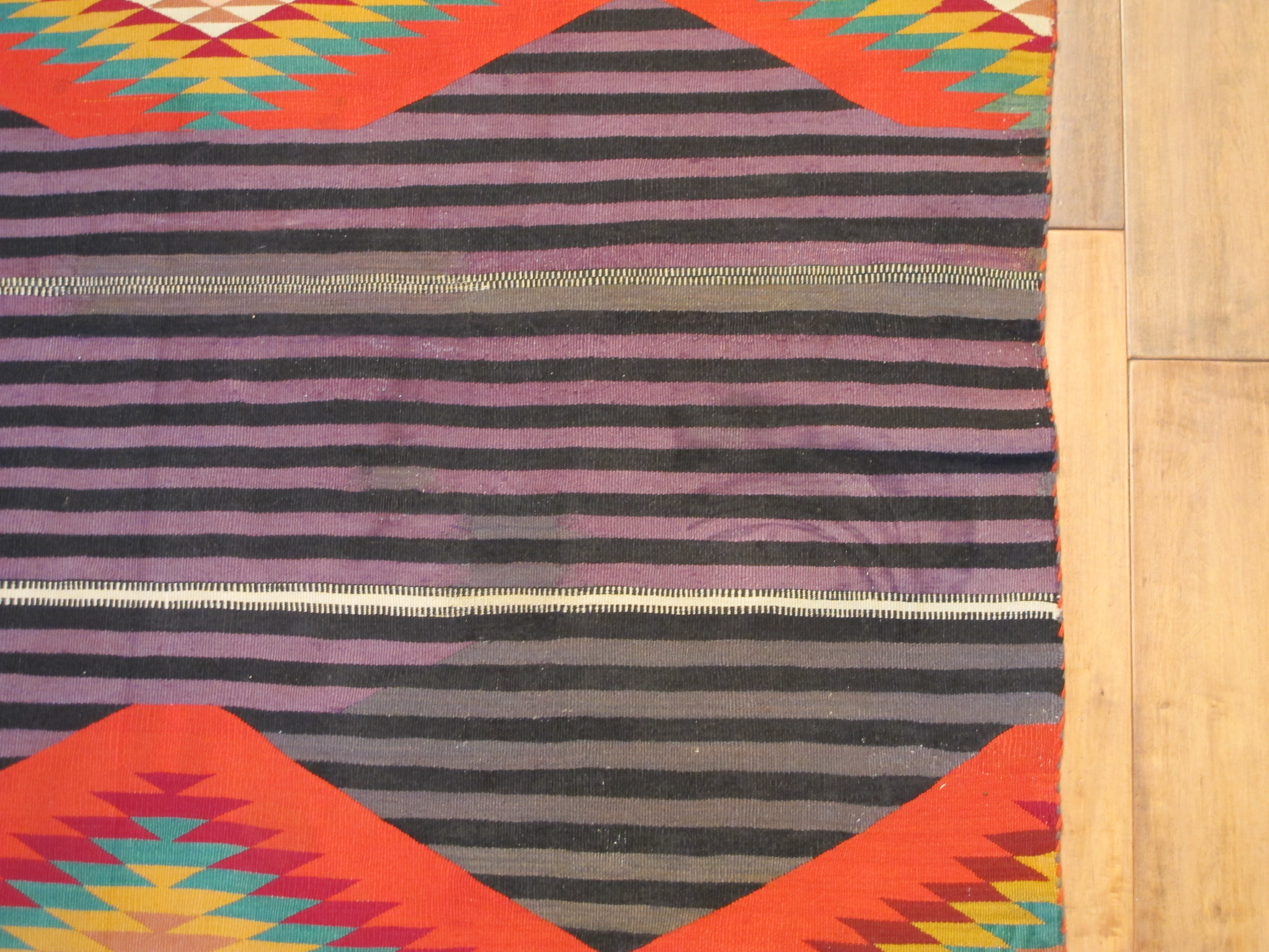 13052 antique Navajo Germantown rug 6,11 x 4,6 (4)