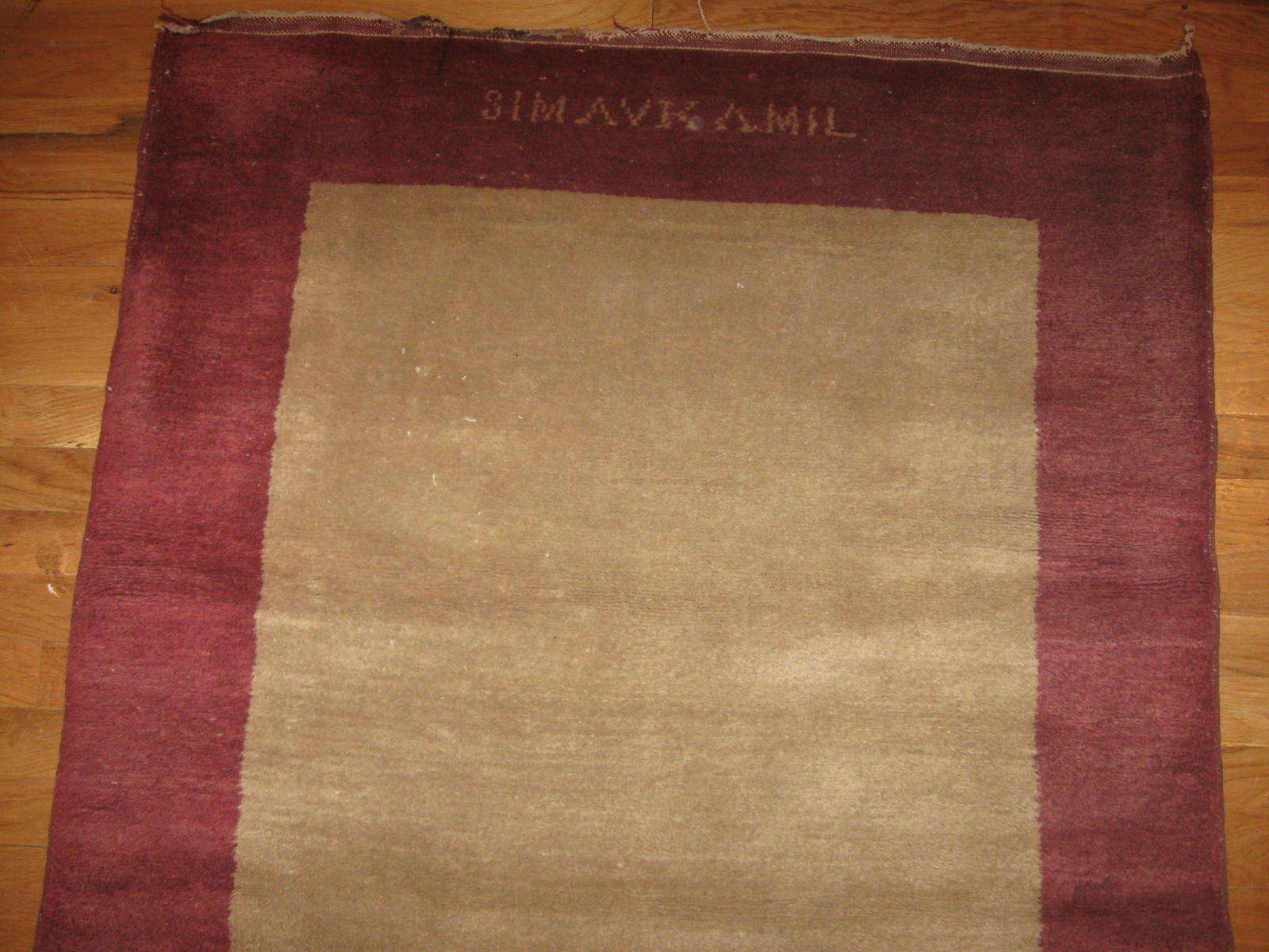 24260 Chinese Fetti hall runner rug 3,3 x 19,6 (2)