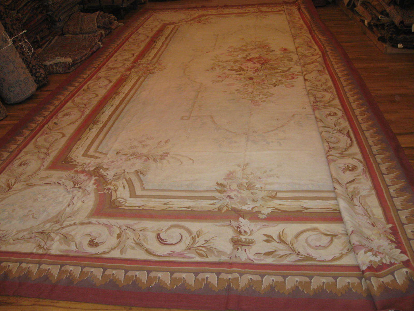 Old French Aubusson Carpet | Circa 1930