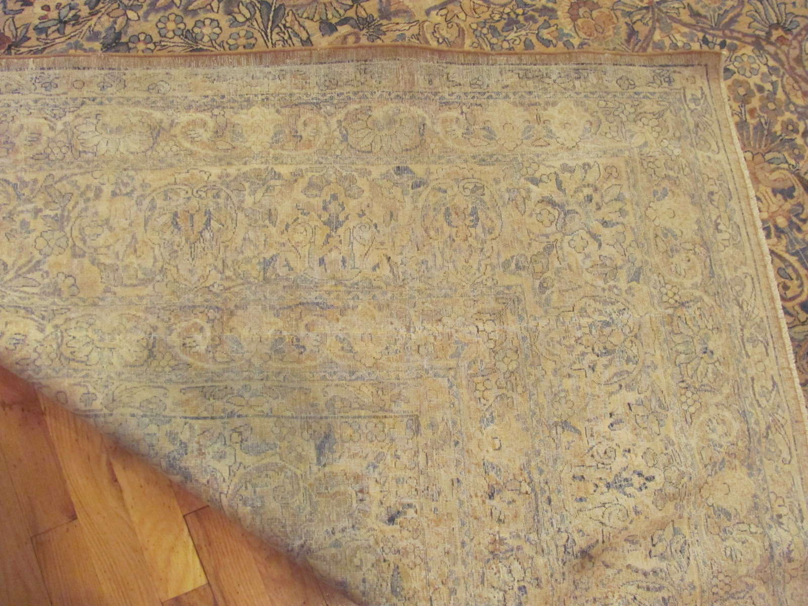 24270 Persian Kirman carpet 9,10 x 19,4 (3)