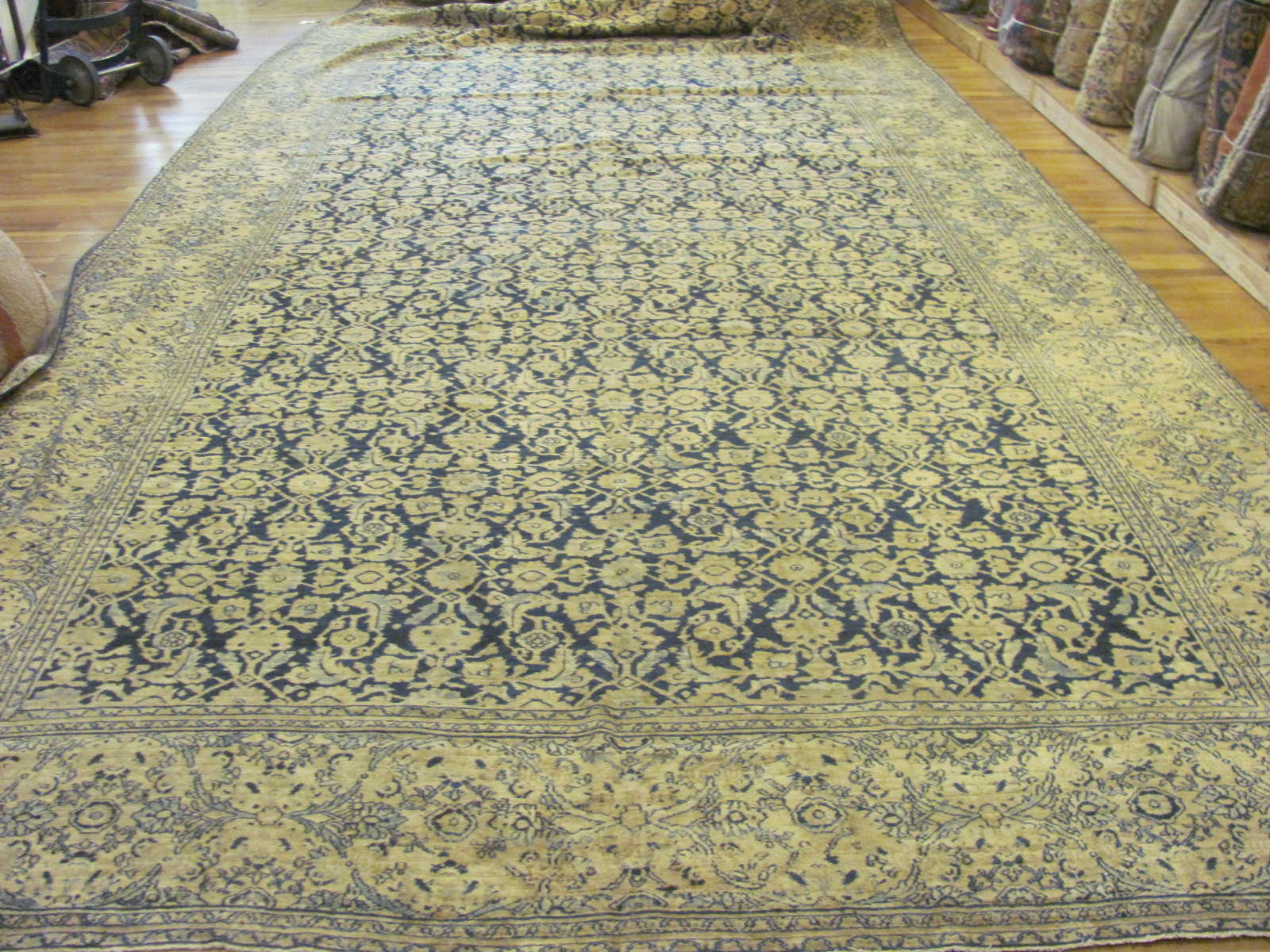 Antique Persian Khorassan Rug | Circa 1910