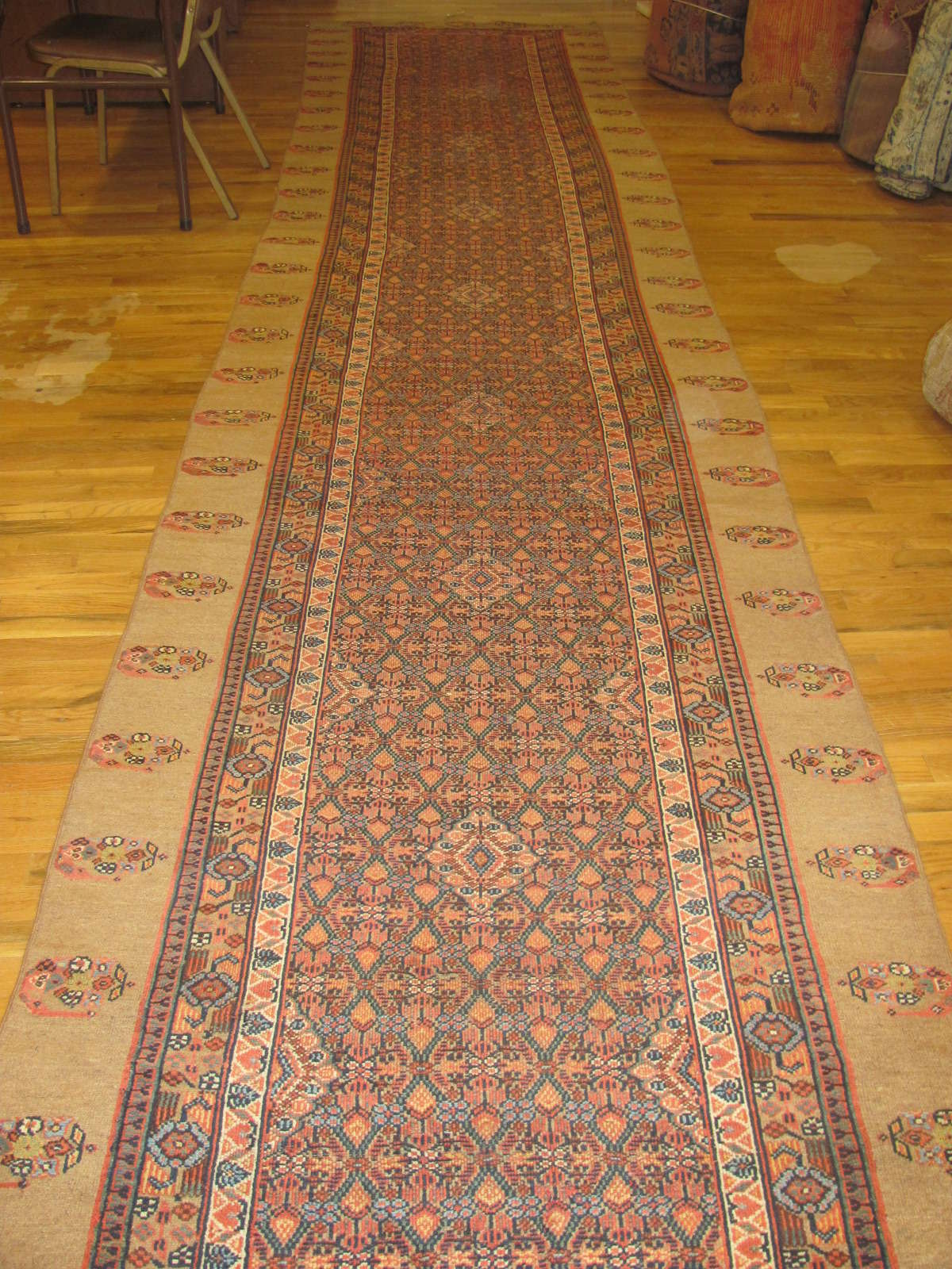 Antique Persian Hamadan | Handmade | Circa 1890