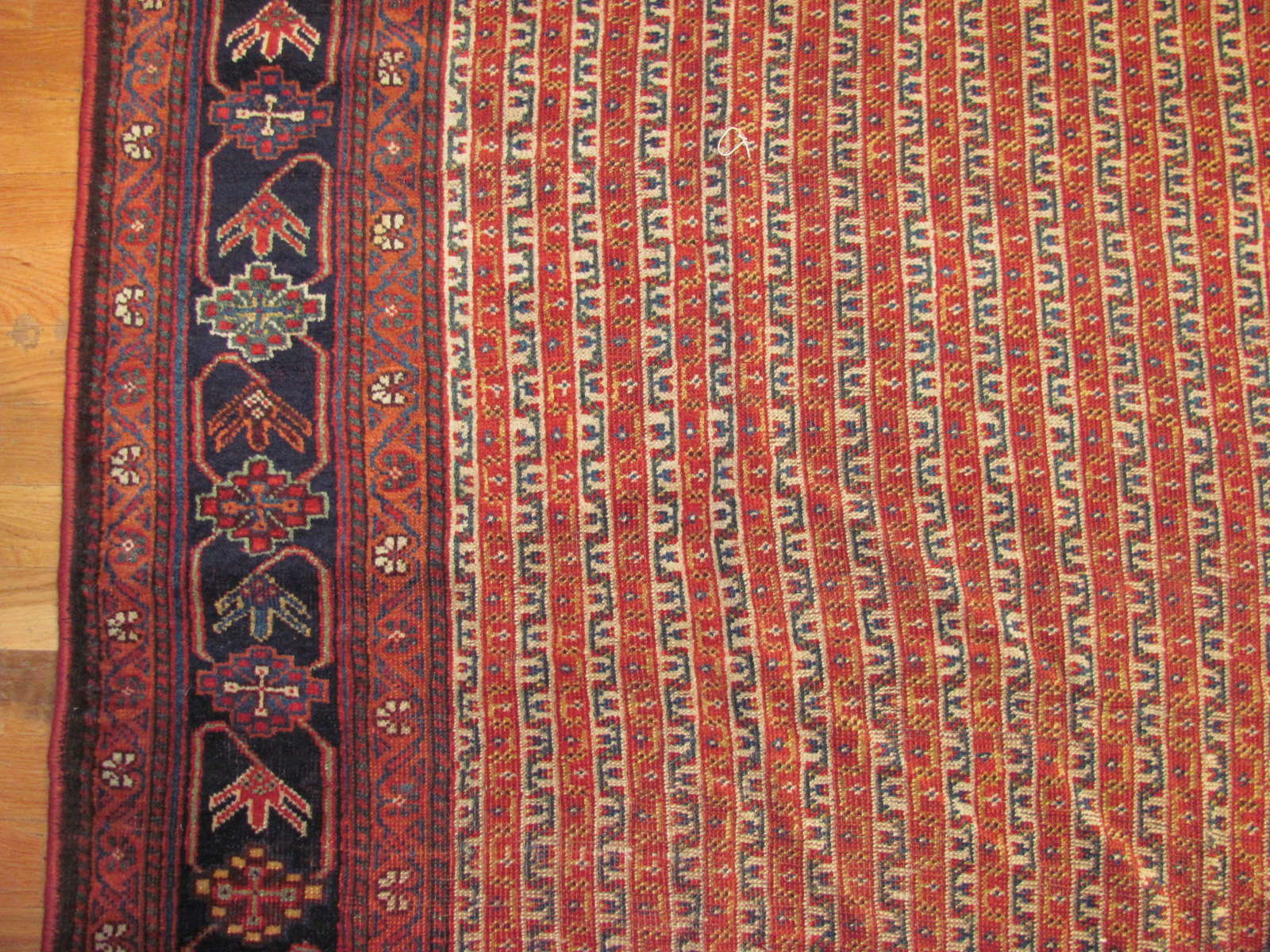 24313 Antique Persian Qashqai 6,2 x 15,4 (2)