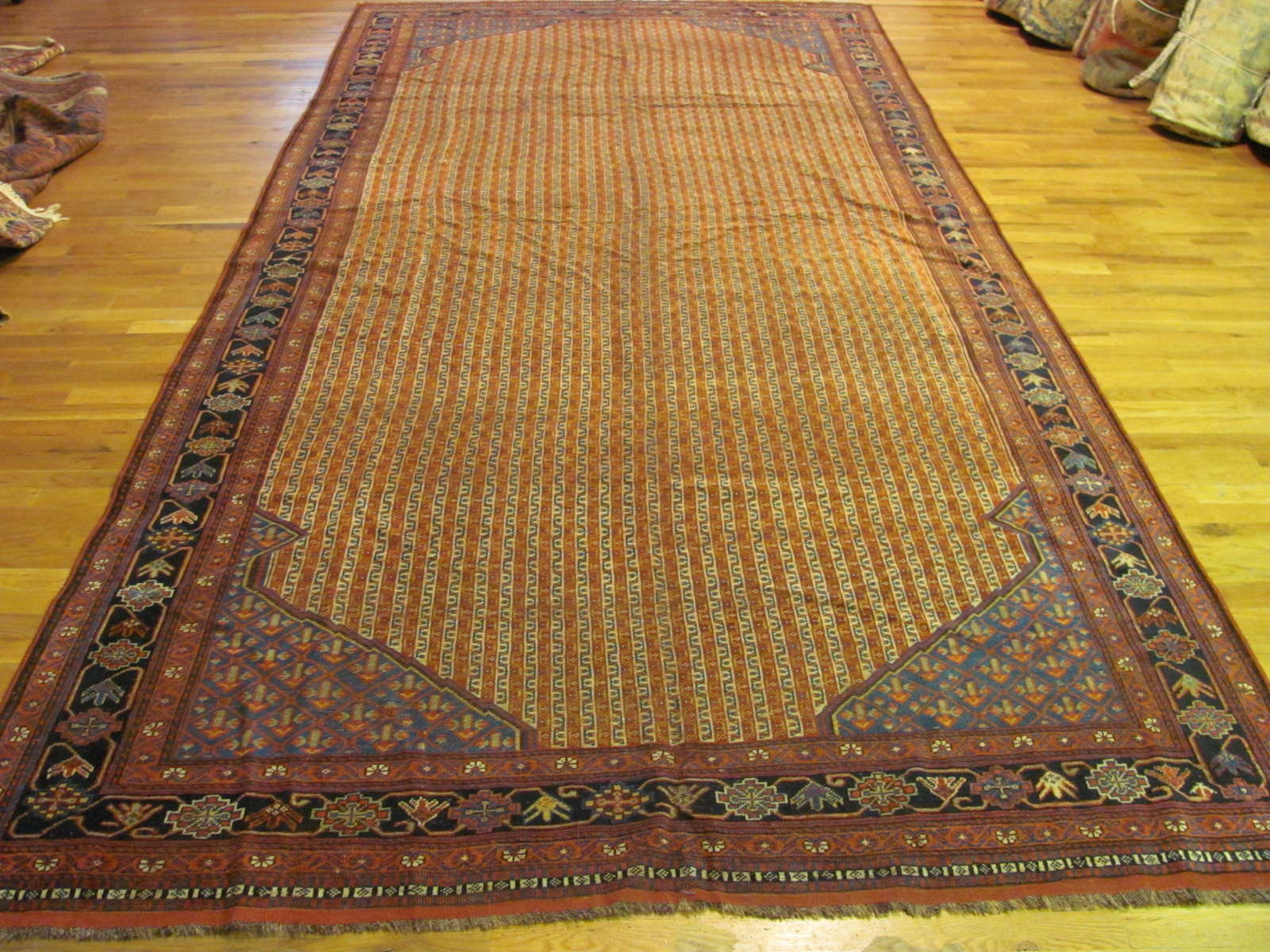 24313 Antique Persian Qashqai 6,2 x 15,4