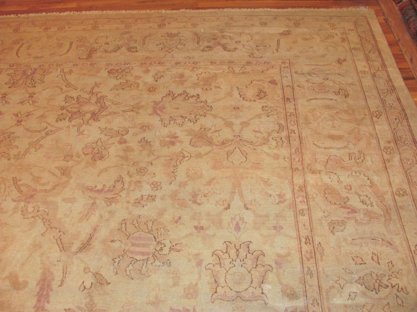 Antique India Amritsar Carpet | Circa 1910