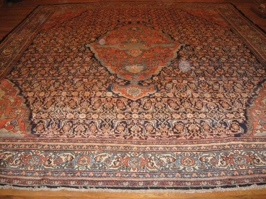 Antique Persian Bidjar Carpet | Circa 1920