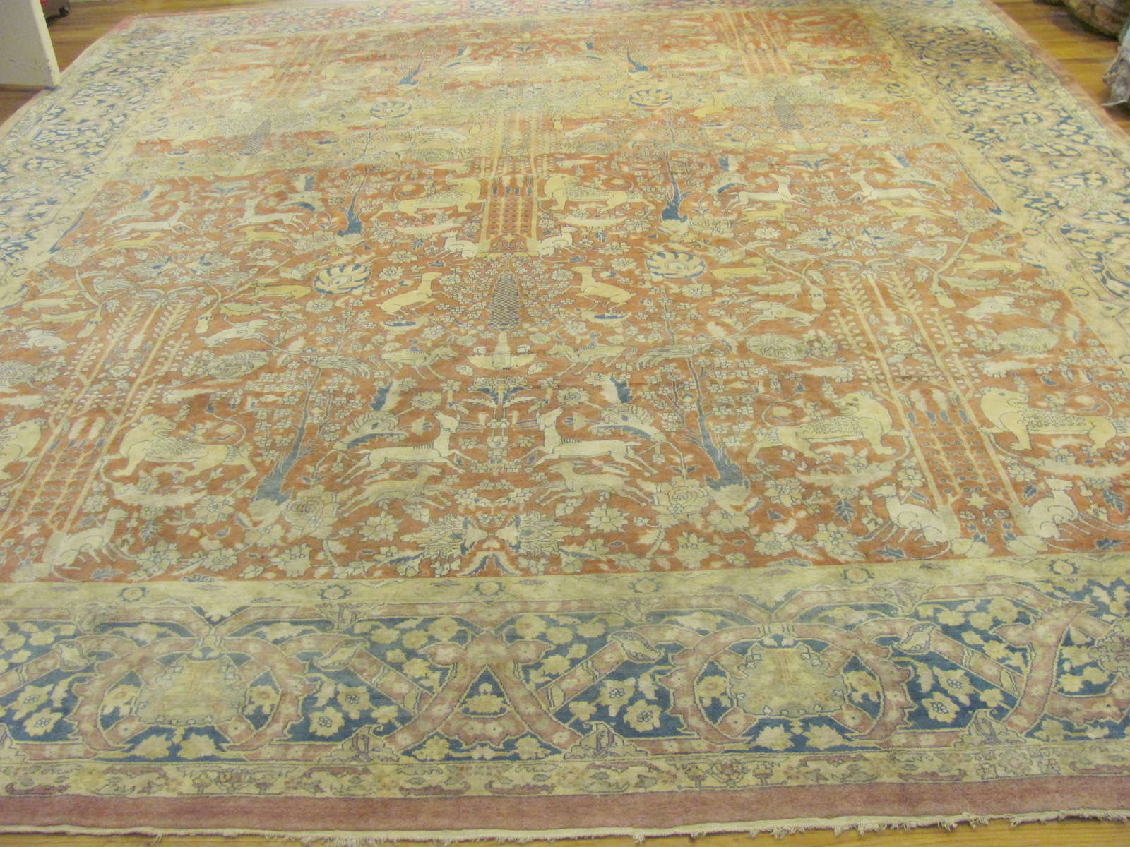 Antique India Agra Carpet | Circa 1900