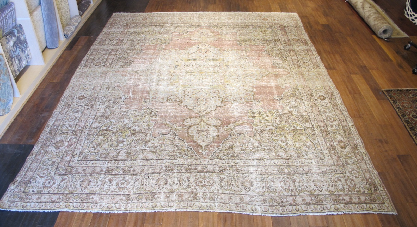 Antique Kerman Lavar Carpet | Persia | Circa 1890