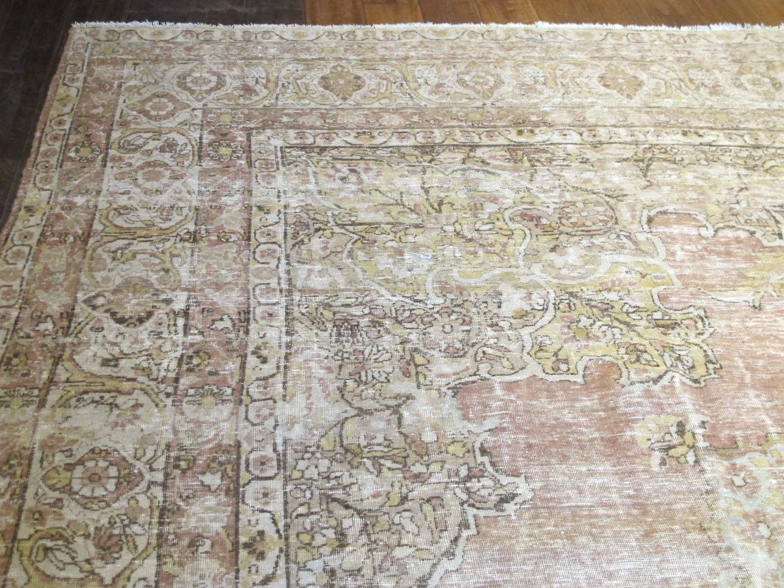 13006 Antique Persian Kerman Lavar carpet 9,9x12,5 (2)