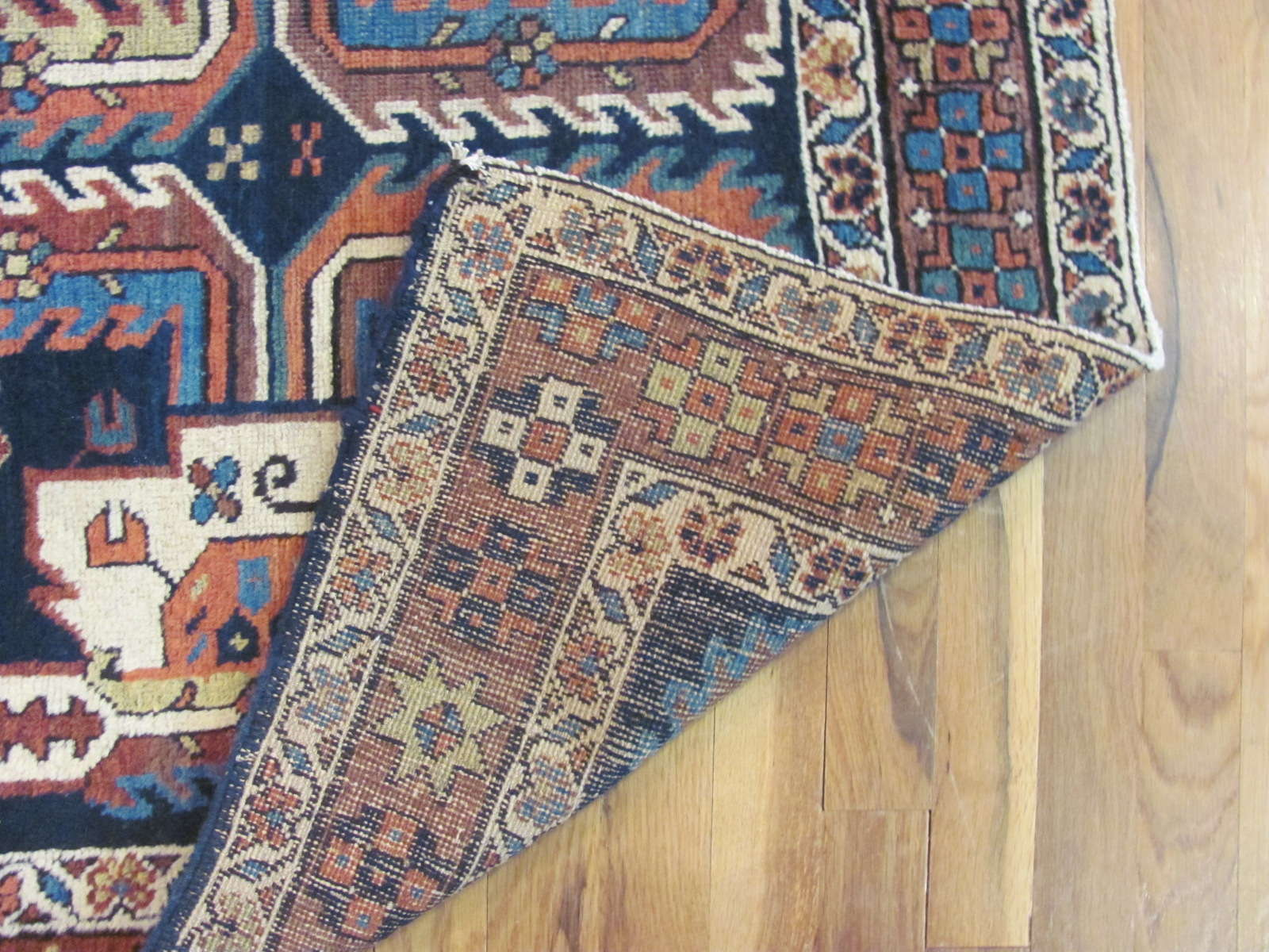 24338 antique Persian Bakshaish runner 2,10 x 15,1 -3