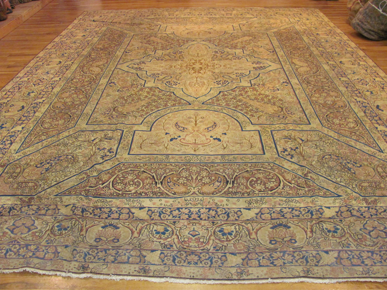Antique Kerman Lavar Carpet | Persia | Circa 1900