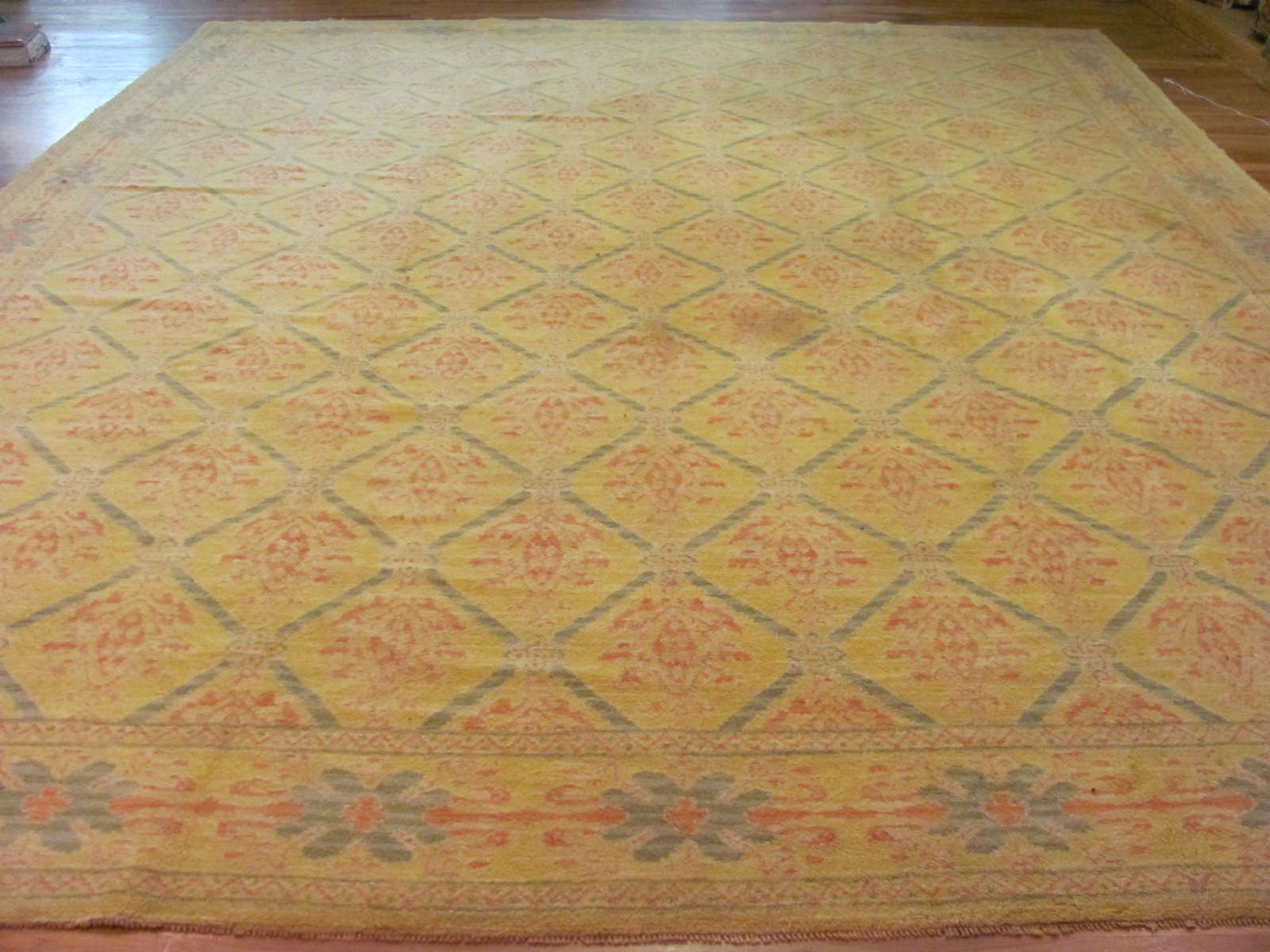 Spanish Carpet | Handmade | Circa 1930s