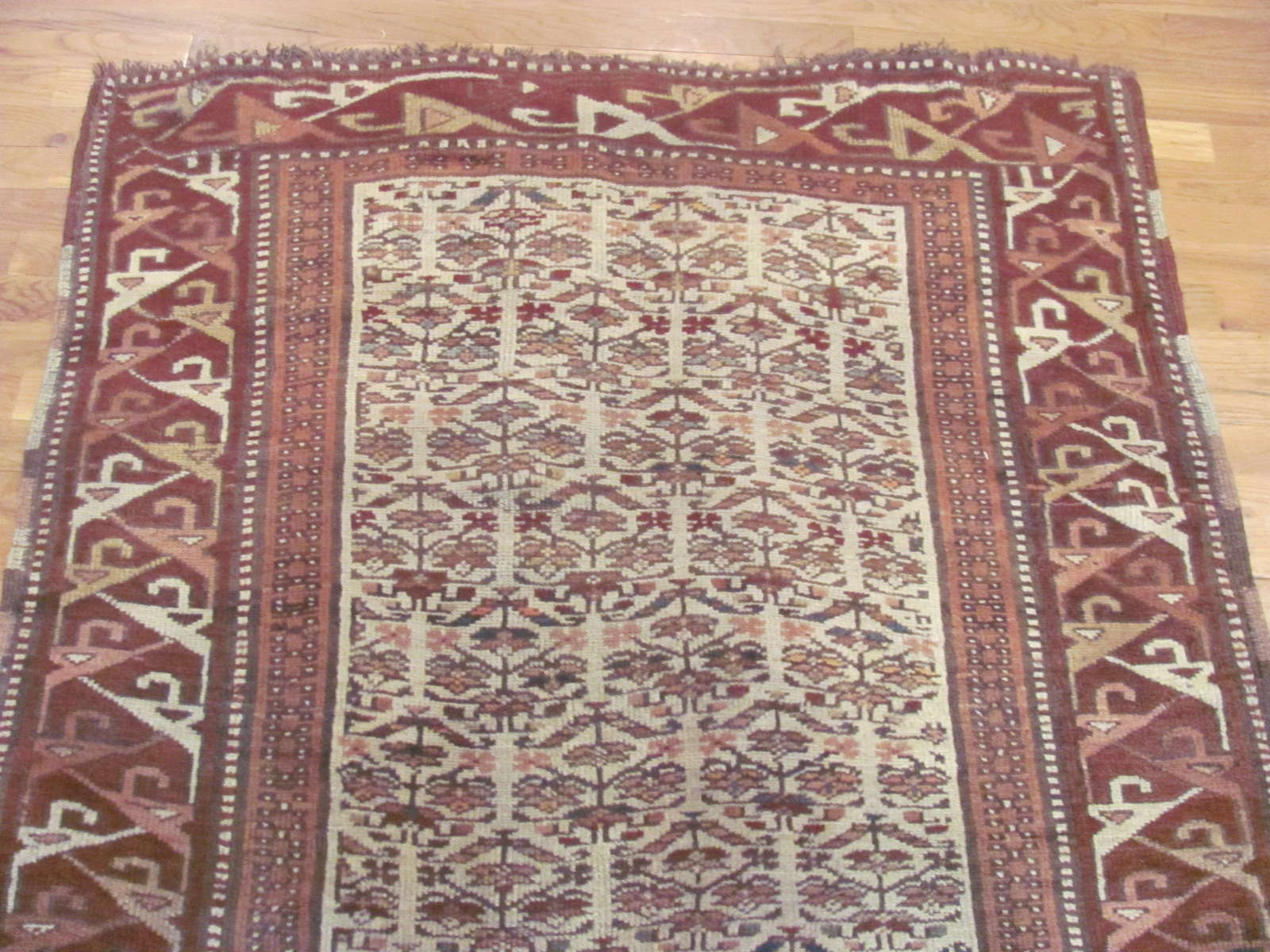 24357 Nortwest Persian Kurd runner 4 x 13 -1