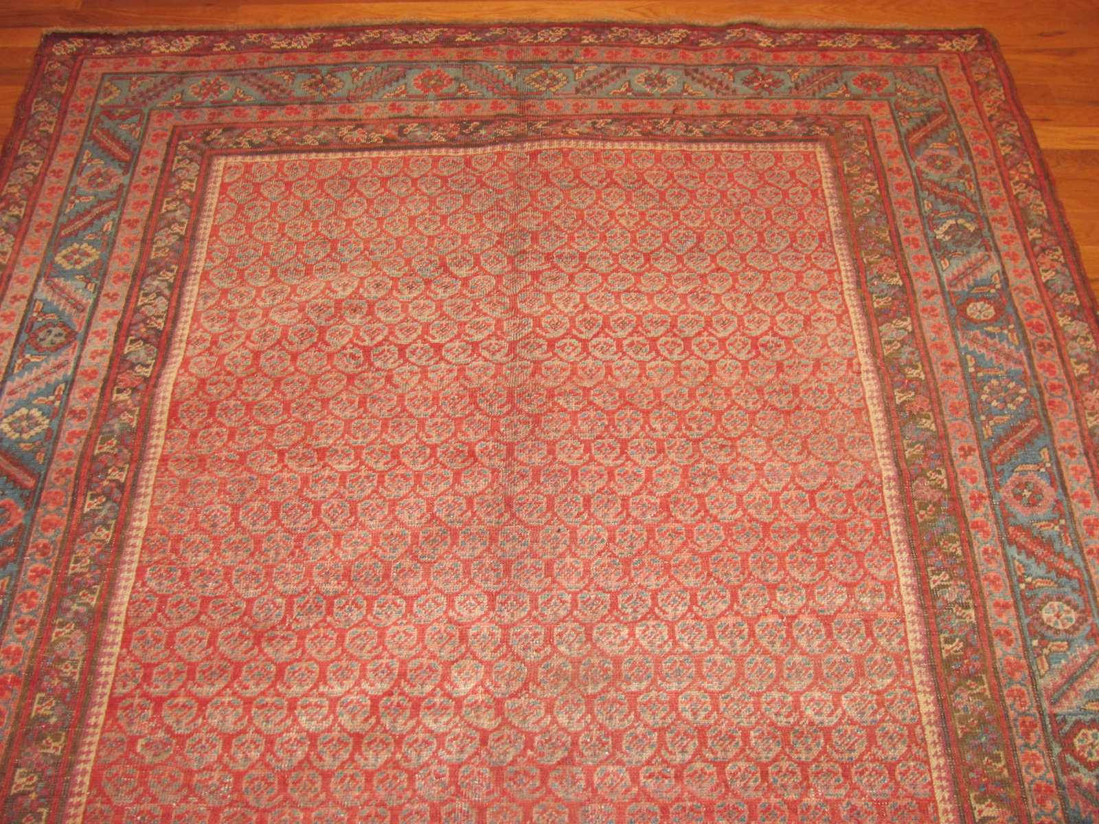 24366 antique Persian Bakshaish corridor runner 5,9 x 14 -1