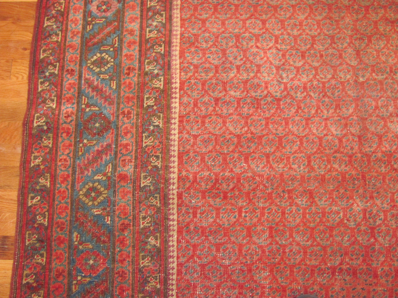 24366 antique Persian Bakshaish corridor runner 5,9 x 14 -2