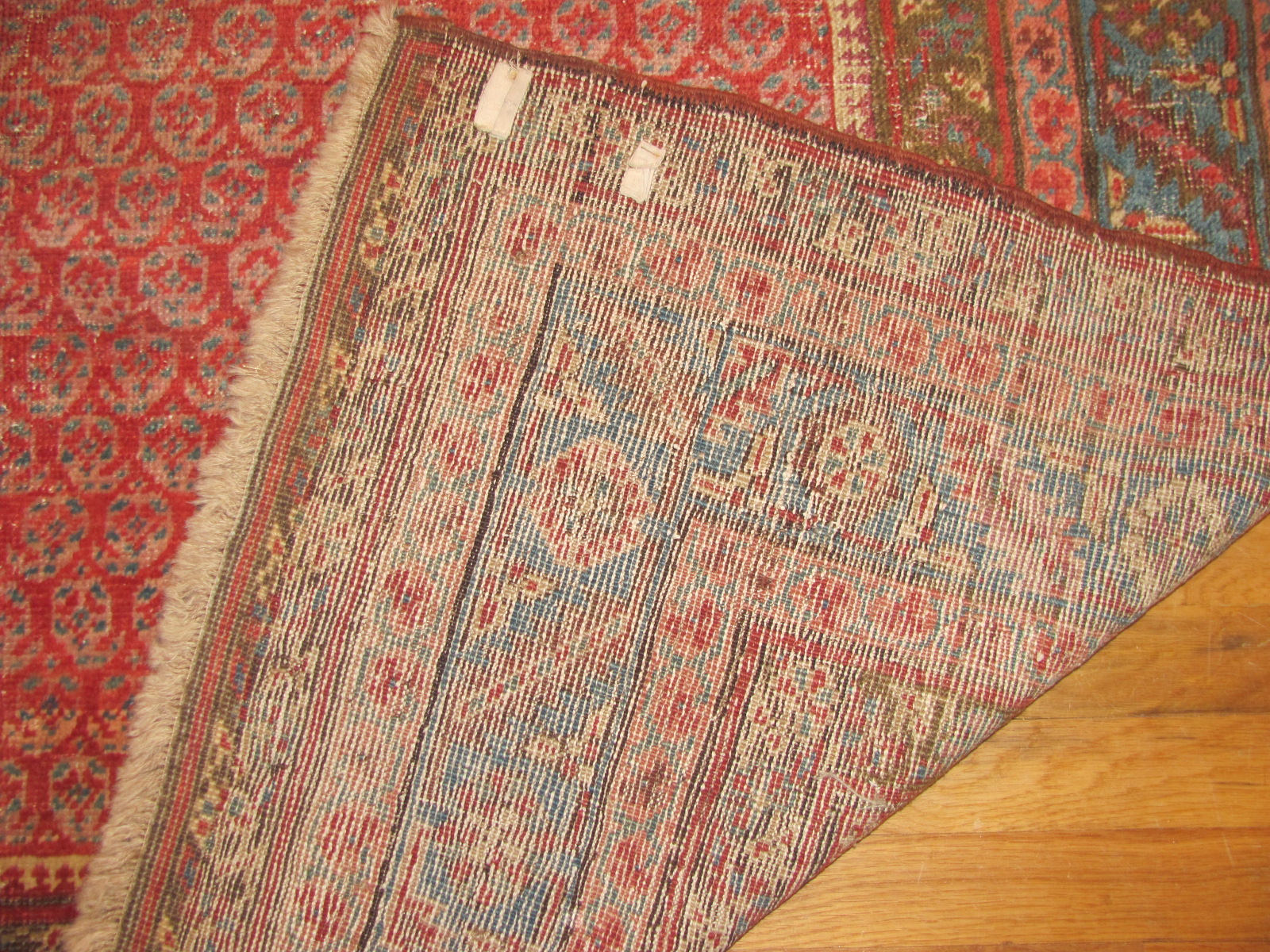 24366 antique Persian Bakshaish corridor runner 5,9 x 14 -3