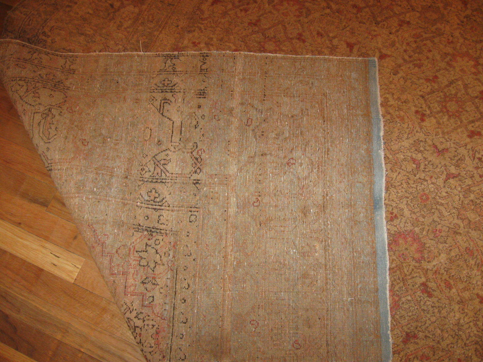 24381 antique India Amritsar carpet 9,2 x 12 -3