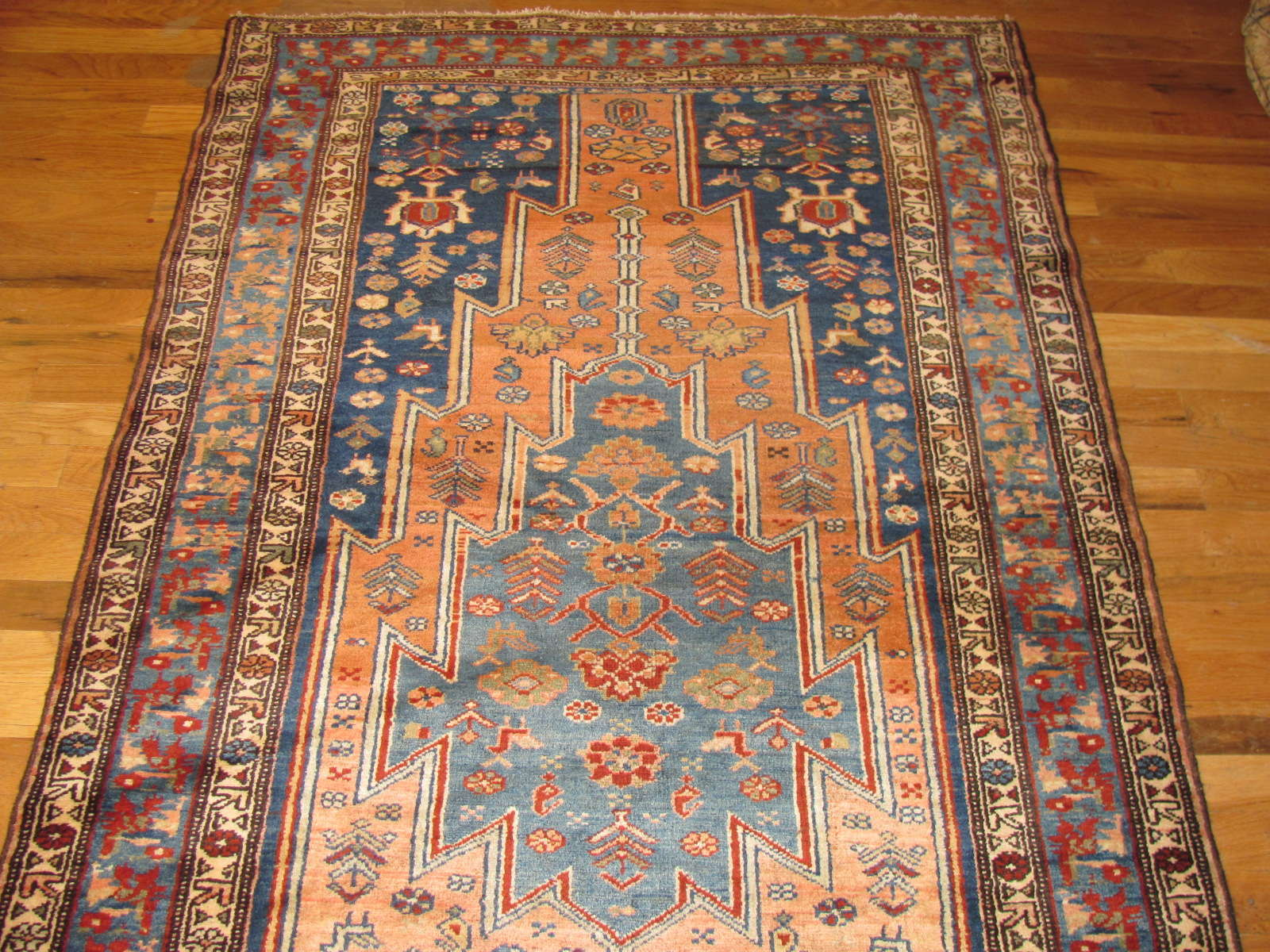 24385 antique Persian Hamadan runner 3,8x12,10 -1