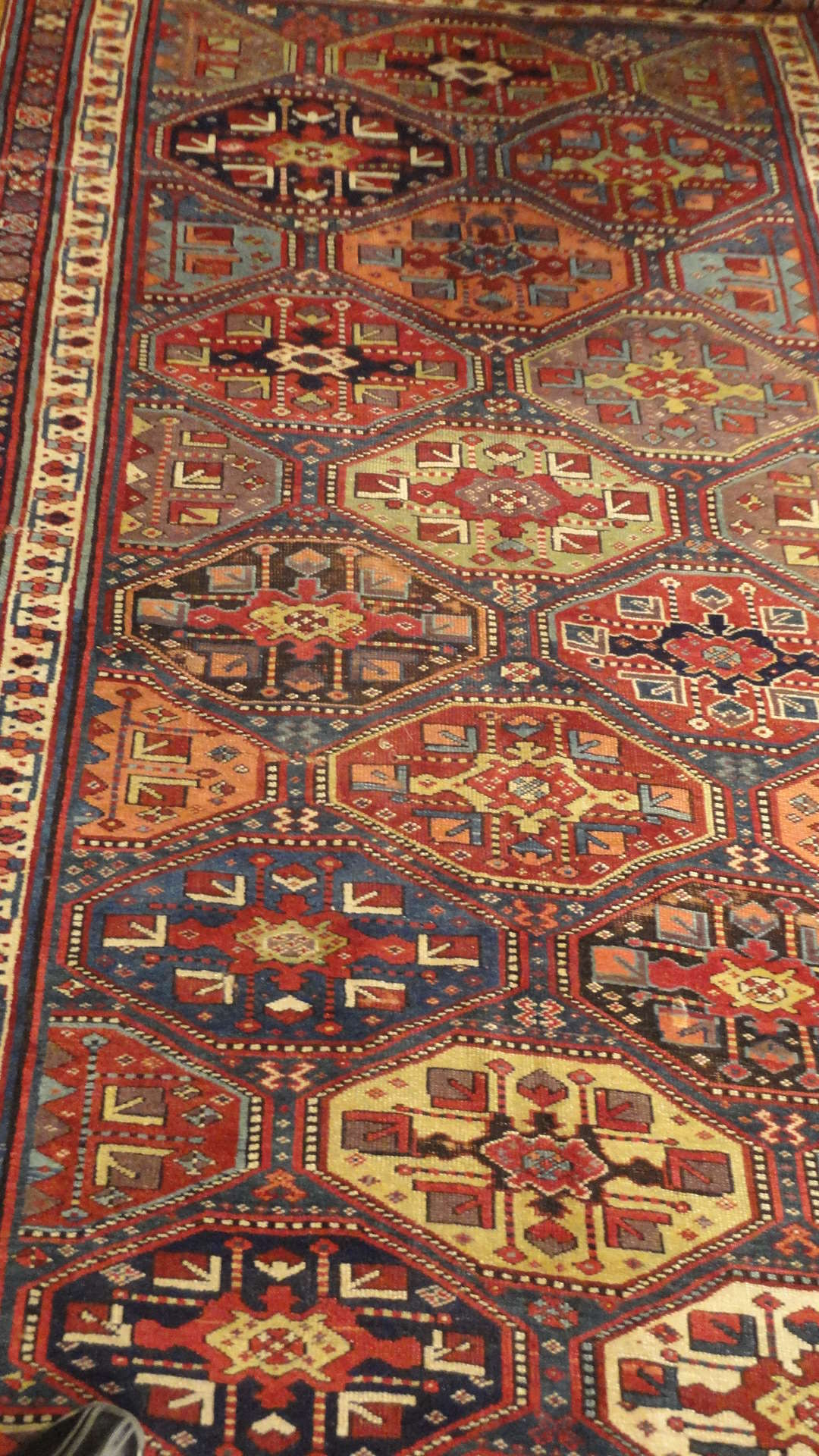 24400 antique Persian Kurdish rug 5x12,8 -2