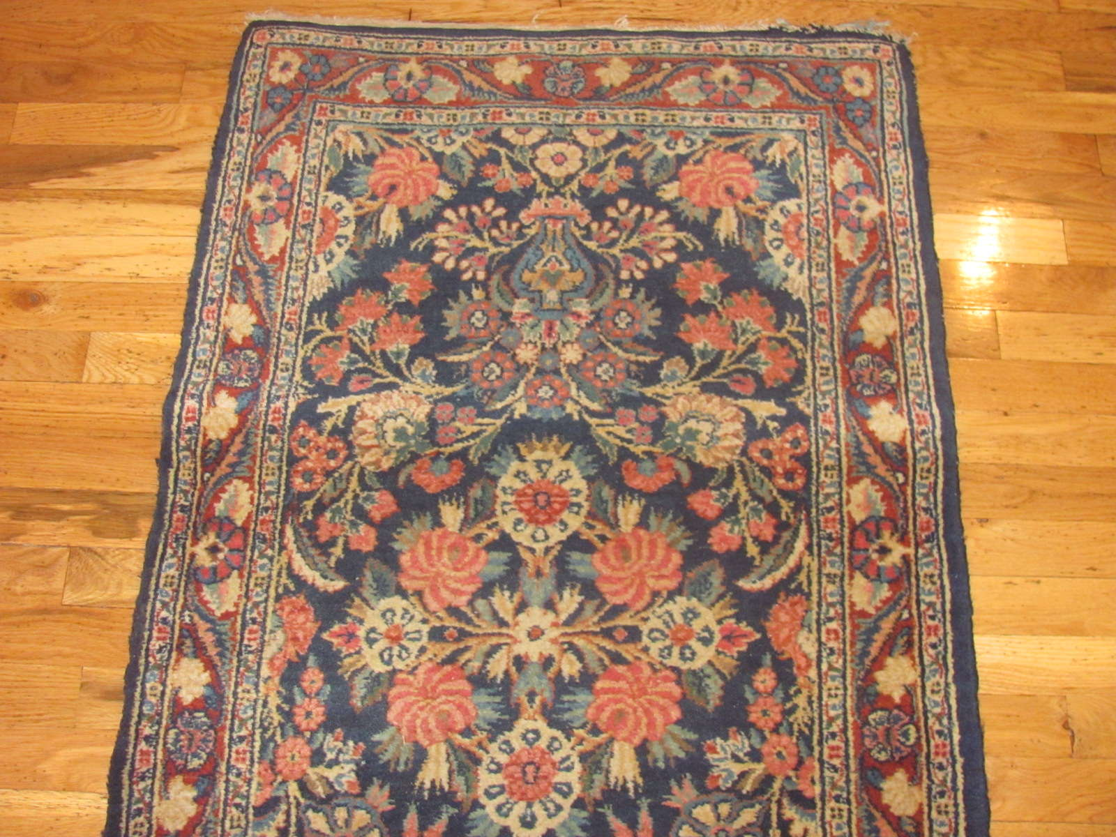 24404 Persian Kazvin runner 2,9x12,7 -1
