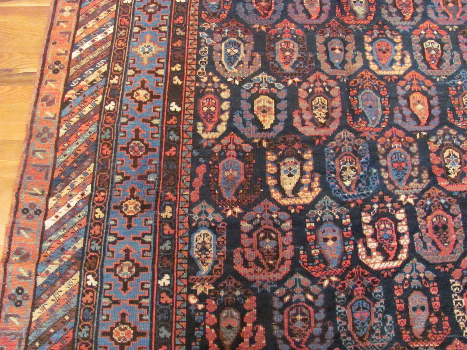 24409 antique Caucasus Baku rug 5,9x11,7 (2)