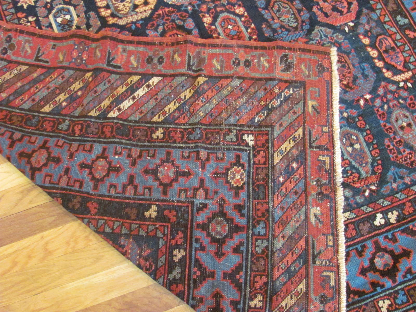 24409 antique Caucasus Baku rug 5,9x11,7 (3)