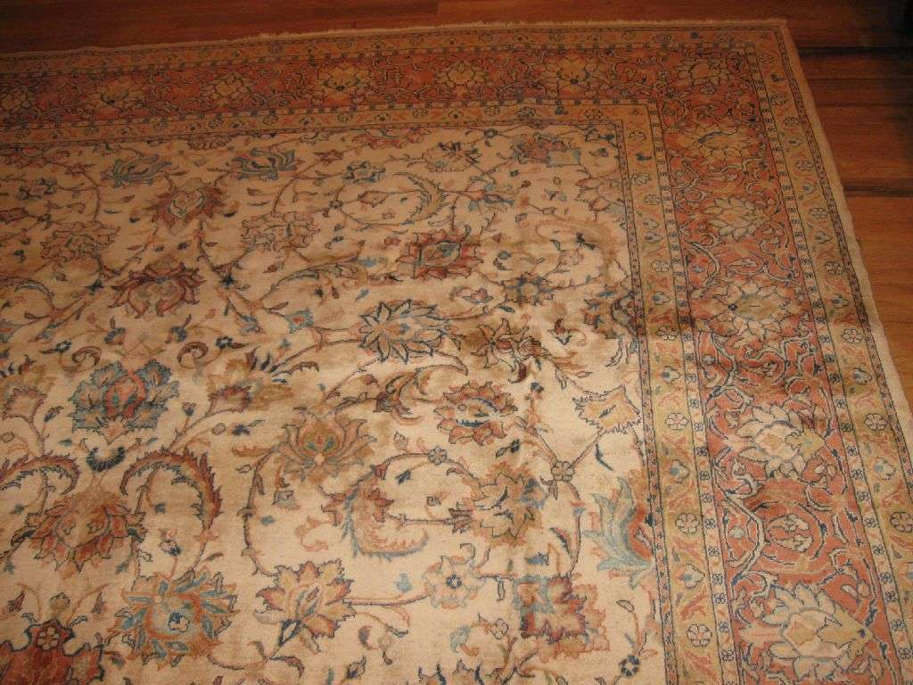 24411 Persian Sarouk carpet 8,1 x 11,4 -1