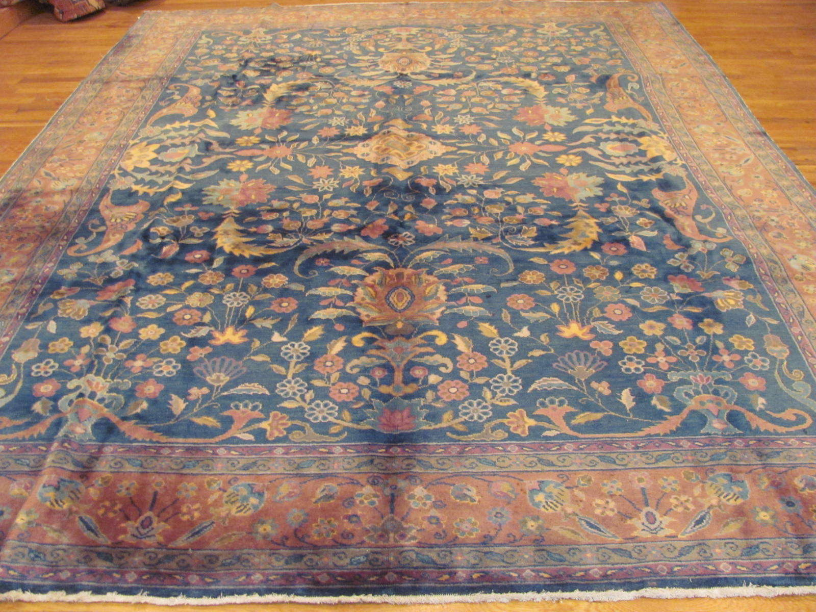 Tabriz Design Rug | China | Hand Woven,Circa 1940