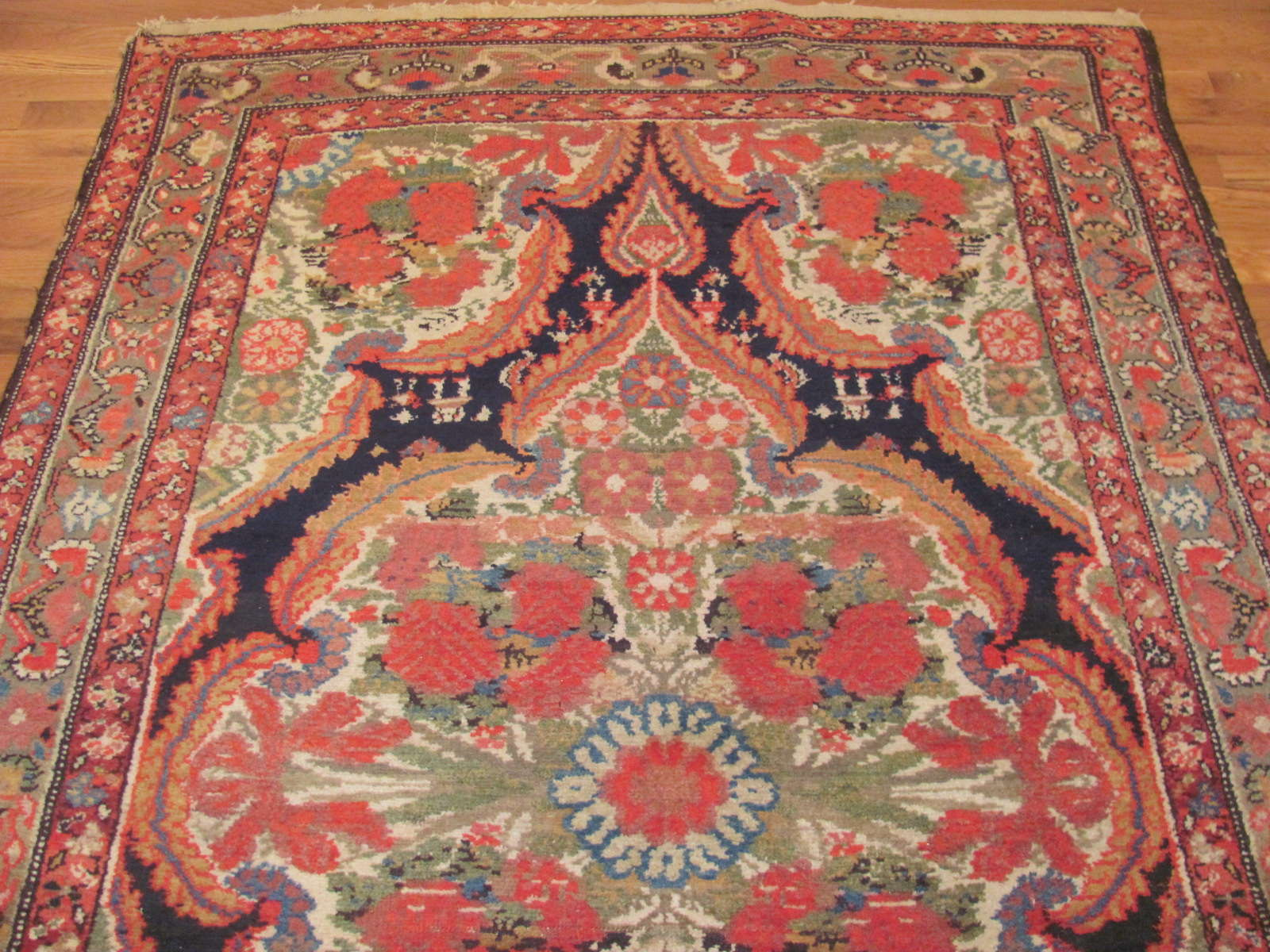 24430 antique persian malayer gallery runner 4,9x11,9 -1